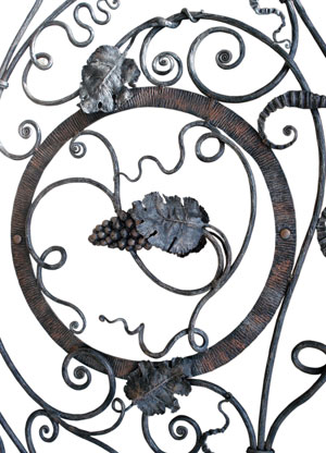 Decorative Wrought Iron Hampshire