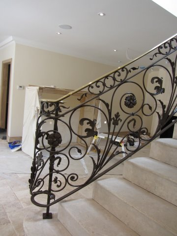 Wrought Iron banisters Hampshire
