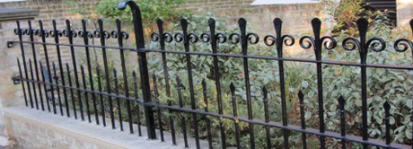 Hampshire railing restoration